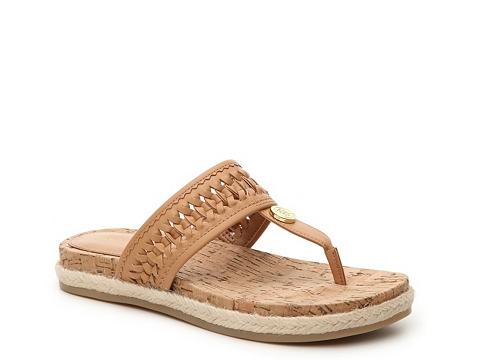 Incaltaminte Femei Tommy Hilfiger Taura Flat Sandal Tan