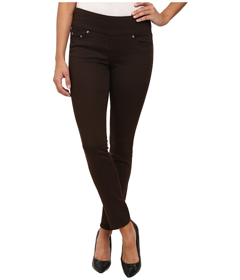 Imbracaminte Femei Jag Jeans Nora Pull-On Skinny Knit Denim in Coffee Coffee