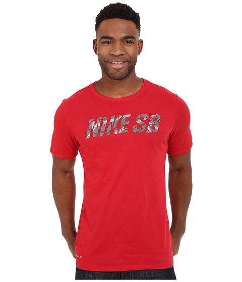 Imbracaminte Barbati Nike SB Fractile Tee Gym RedGym RedWhite