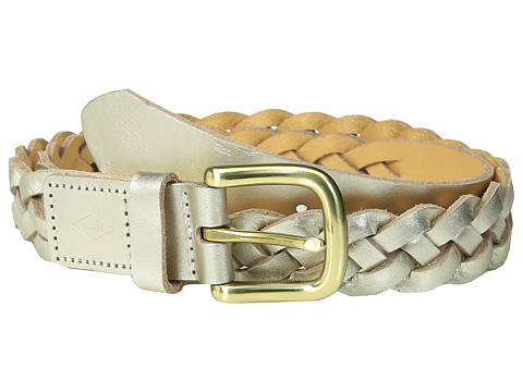 Accesorii Femei Fossil Mystery Braid Belt Champagne