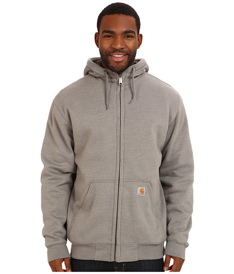 Imbracaminte Barbati Carhartt Brushed Fleece Sweatshirt Sherpa Lined Slate Heather