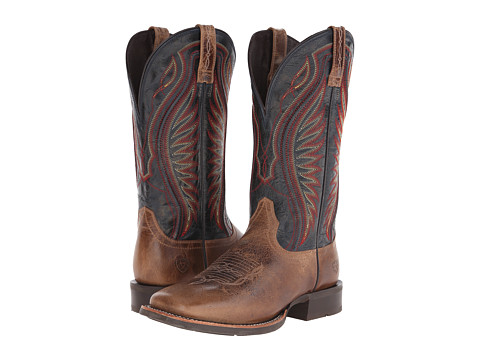 Incaltaminte Barbati Ariat Rodeo Warrior Shadow BrownSilver Stream