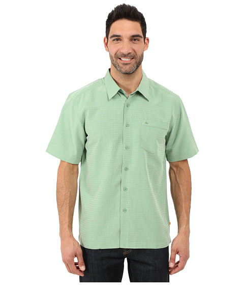 Imbracaminte Barbati Quiksilver Centinela 4 Traditional Polynosic Woven Top Agave