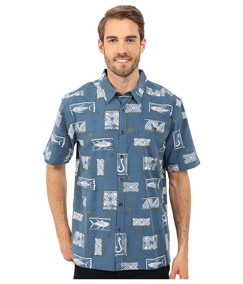 Imbracaminte Barbati Quiksilver Secret Cove Woven Shirt Real Teal