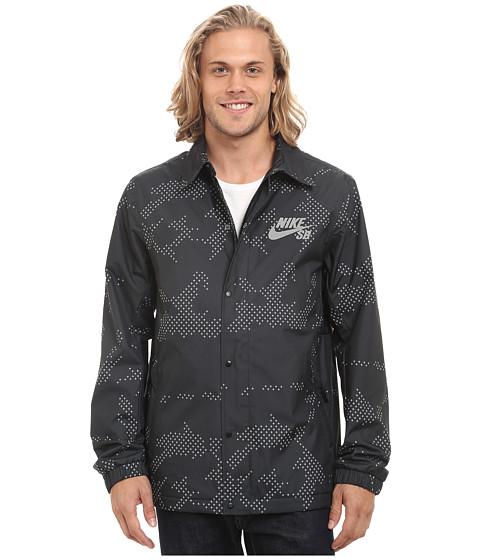 Imbracaminte Barbati Nike SB Asst Coaches Jacket BlackAnthraciteWhite