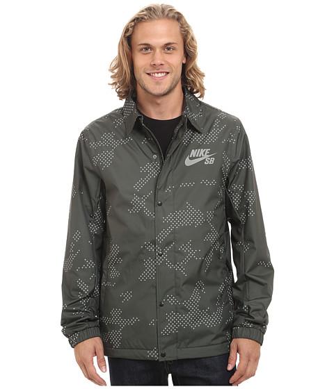 Imbracaminte Barbati Nike SB Asst Coaches Jacket SequoiaAnthraciteWhite