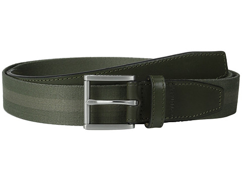 Accesorii Barbati Cole Haan 35mm Webbing Belt with Leather Tabs and Loop FatigueBungee Cord
