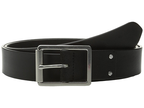 Accesorii Barbati Cole Haan 35mm Smooth Leather Belt with Center Bar Buckle Black