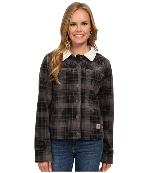 Imbracaminte Femei Carhartt Cedar Sherpa Jacket CharcoalBirch Lining