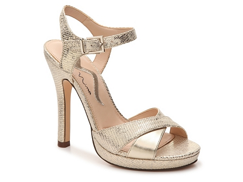 Incaltaminte Femei Nina Fairest Sandal Gold Metallic