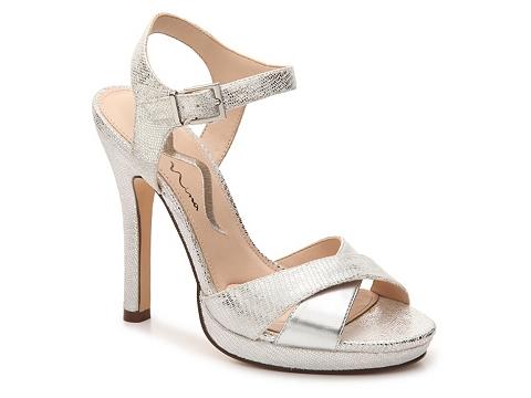 Incaltaminte Femei Nina Fairest Sandal Silver Metallic
