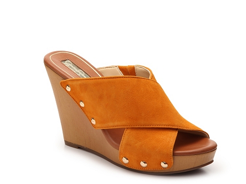 Incaltaminte Femei Jessica Simpson Jozie Wedge Sandal Orange