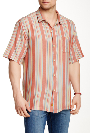Imbracaminte Barbati Tommy Bahama Seas the Moment Silk Original Fit Shirt FIREWORKS