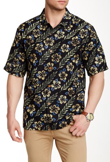Imbracaminte Barbati Tommy Bahama O-Lei Silk Original Fit Shirt BLACK