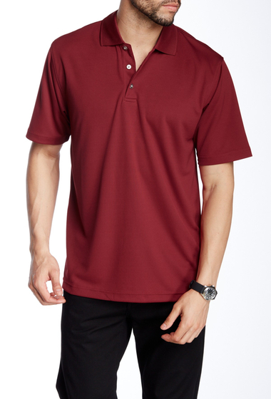 Imbracaminte Barbati Lone Cypress Pebble Beach Roped Short Sleeve Polo 7288 BIKING RED
