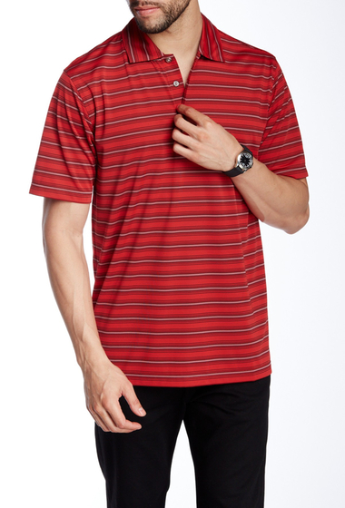 Imbracaminte Barbati Lone Cypress Pebble Beach Striped Short Sleeve Polo 7091 TNGORD