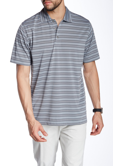 Imbracaminte Barbati Lone Cypress Pebble Beach Striped Short Sleeve Polo 2088 TRADEWINDS