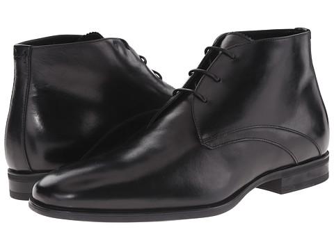 Incaltaminte Barbati Aquatalia Ace Black Dress Calf