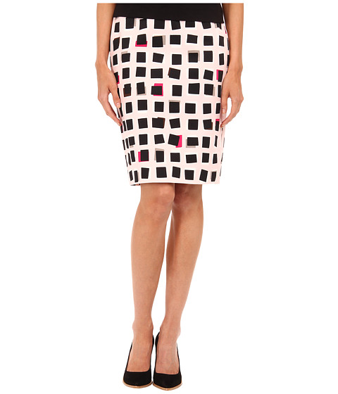 Imbracaminte Femei Kate Spade New York Abstract Sweets Pencil Skirt Pastry Pink