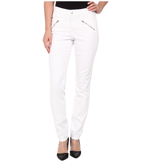 Imbracaminte Femei NYDJ Alina Legging - Mesh in White White