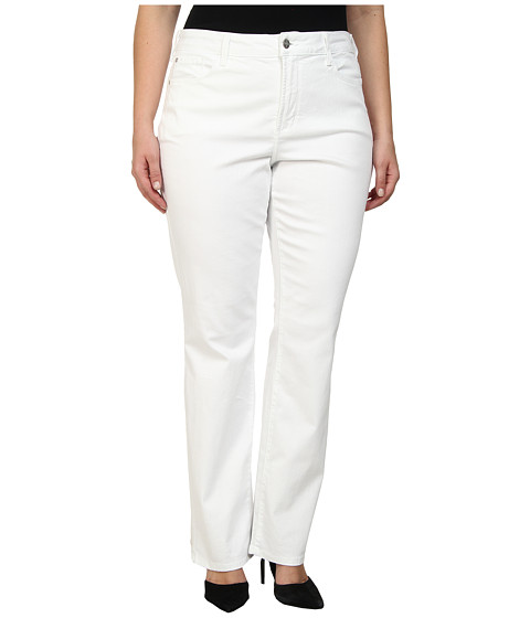 Imbracaminte Femei NYDJ Plus Size Marilyn Straight Optic White