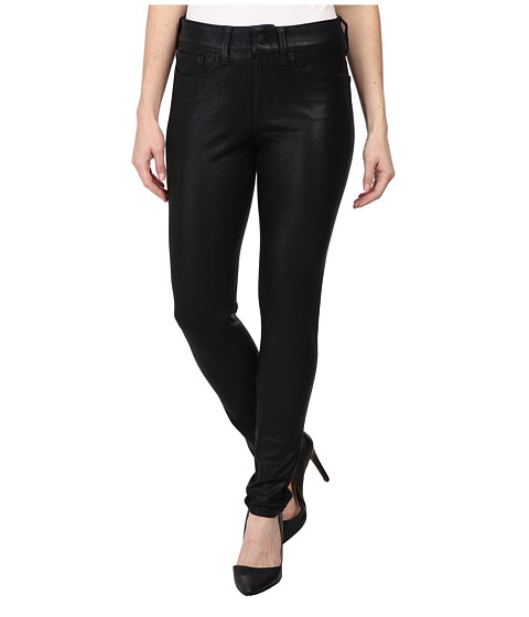 Imbracaminte Femei NYDJ Petite Joanie Skinny Leggings Pull-On Black Coated