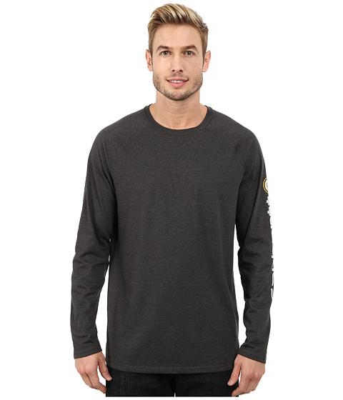 Imbracaminte Barbati Carhartt Force Cotton Delmont Sleeve Graphic T-Shirt Carbon Heather