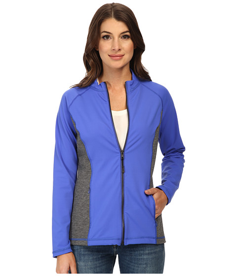 Imbracaminte Femei NYDJ CitySport Zip Trainer Jacket Ultramarine w Heather