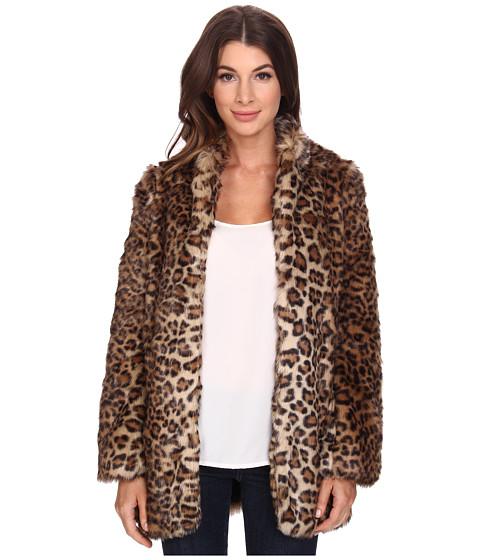 Imbracaminte Femei NYDJ West End Cheetah Coat Vicuna