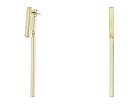 Bijuterii Femei French Connection Modern Bar FrontBack Earrings Gold