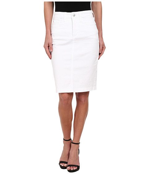 Imbracaminte Femei NYDJ Dora Skirt Washed Twill Optic White