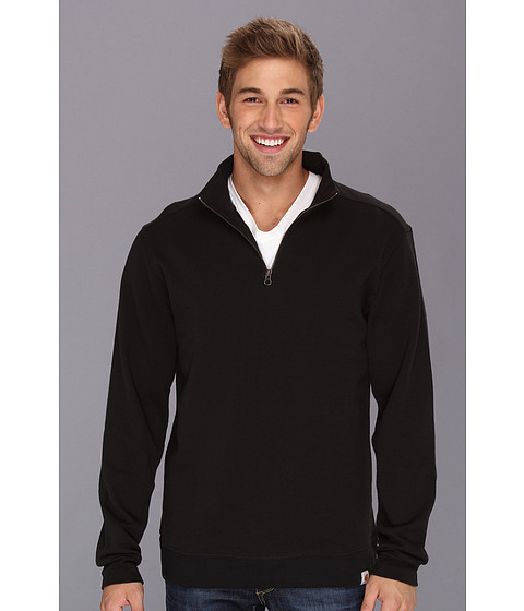 Imbracaminte Barbati Carhartt Sweater Knit Quarter Zip Black