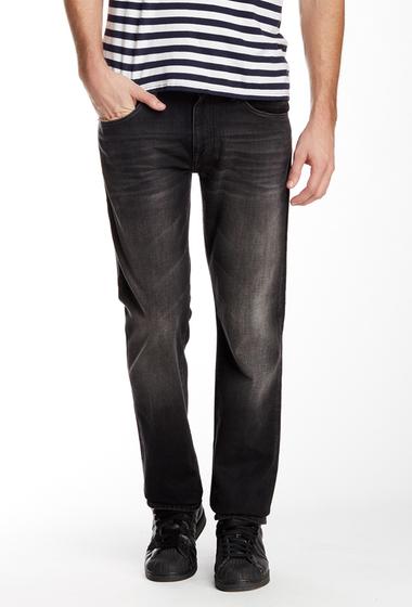 Imbracaminte Barbati Mavi Jeans Zach Straight Leg Jean BLACK BRUSHED YALETOWN