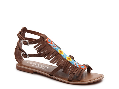 Incaltaminte Femei Coconuts By Matisse Marky Gladiator Sandal Brown Multi