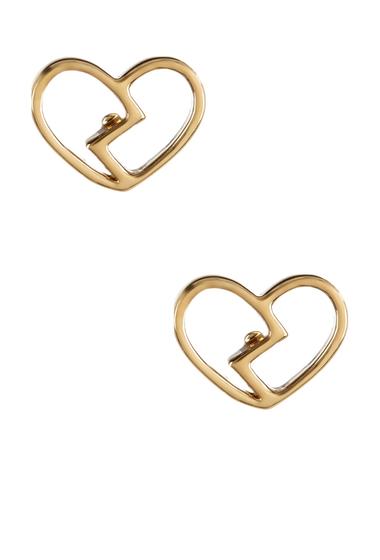 Bijuterii Femei Marc by Marc Jacobs Broken Hearted Stud Earrings ORO