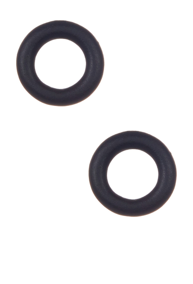 Bijuterii Femei Marc by Marc Jacobs Rubber Doughnut Stud Earrings BLACK