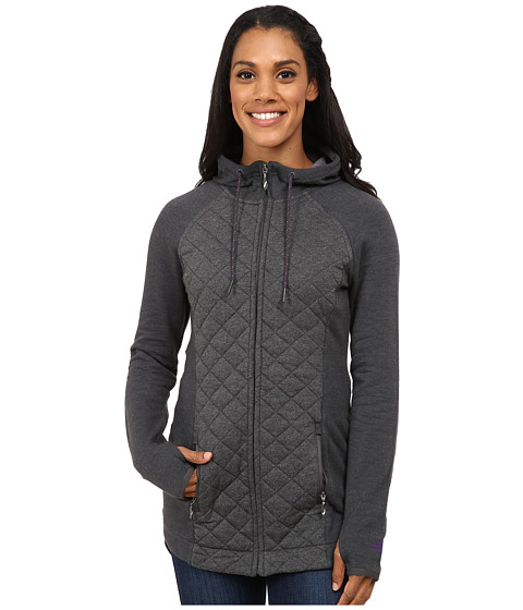 Imbracaminte Femei The North Face Viola Long Full Zip Charcoal Grey Heather (Prior Season)