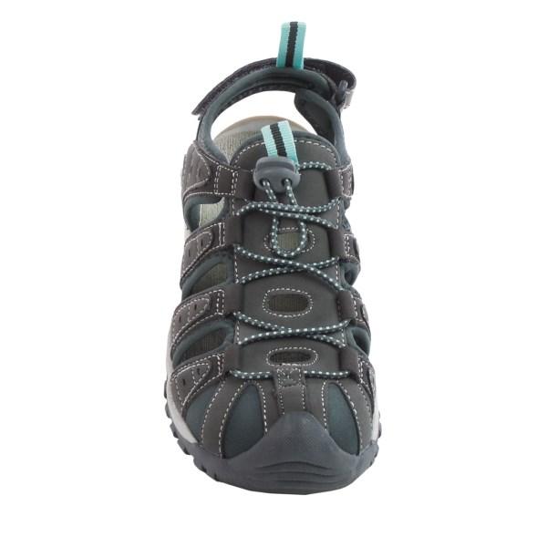 Incaltaminte Femei Hi-Tec Hi-Tec Shore Sport Sandals GREYCHARCOALSPROUT (01)