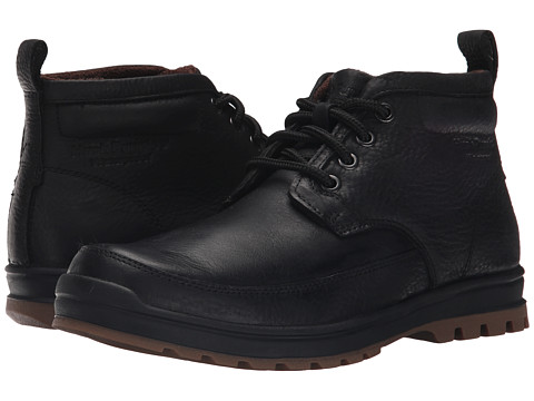 Incaltaminte Barbati Hush Puppies Dutch Abbott Black Waterproof Leather