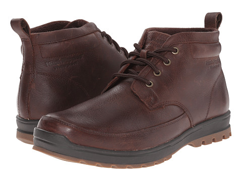 Incaltaminte Barbati Hush Puppies Dutch Abbott Brown Waterproof Leather