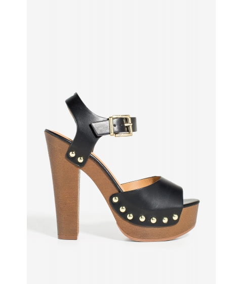 Incaltaminte Femei CheapChic Mally Dont Be Shy Platform Black
