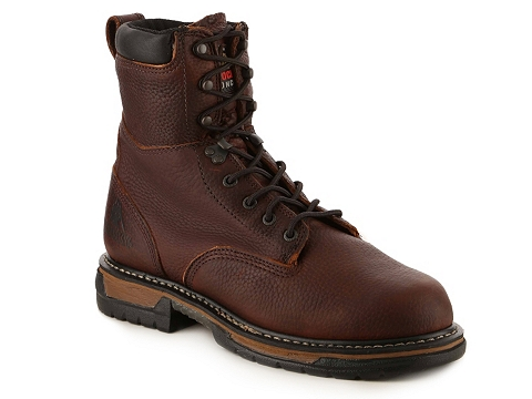 Incaltaminte Barbati Rocky Ironclad Work Boot Brown
