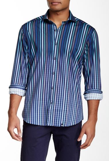 Imbracaminte Barbati Stone Rose Long Sleeve Woven Regular Fit Shirt TEA-NVY
