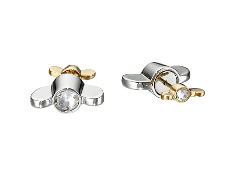Bijuterii Femei Marc by Marc Jacobs Screw It Reversible Wingnut Earrings Argento Multi