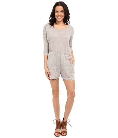 Imbracaminte Femei Brigitte Bailey Lexy Front Pocket Romper Light Heather Grey