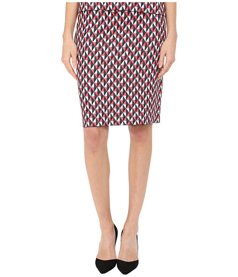 Imbracaminte Femei Kate Spade New York Flying Kites Pencil Skirt Geranium Multi