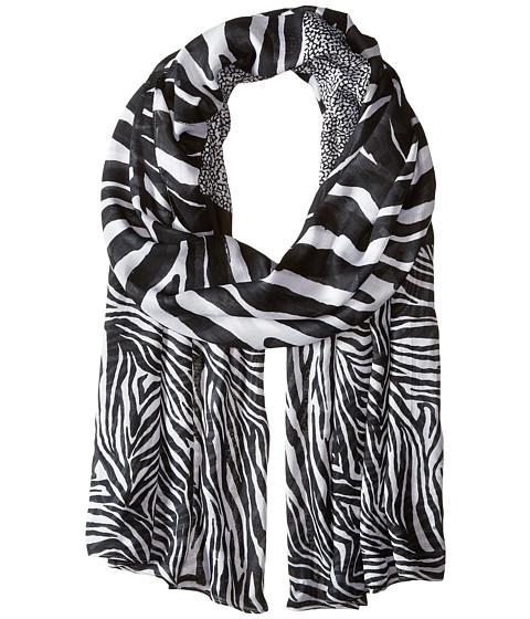 Accesorii Femei Michael Kors Zahra Kendal Zebra Oblong WhiteBlack