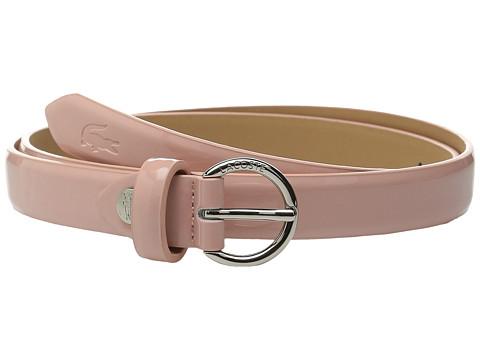 Accesorii Femei Lacoste Premium Glossy Belt Pink