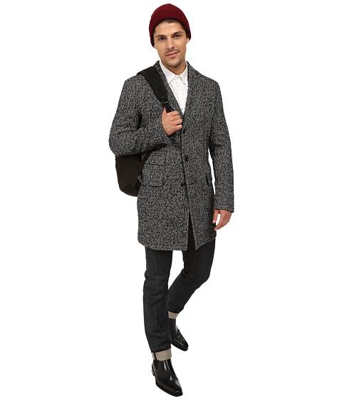 Imbracaminte Barbati BOSS Orange Barrets Blazer Three Button Vented Overcoat with Welt Pockets amp Notched Lapel Black