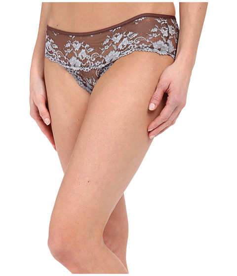 Imbracaminte Femei Free People Wild Roses Hipster Undie MochaBlue Mist Combo